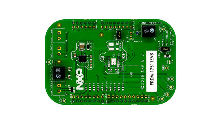 FRDM-17511EVB : Freedom Expansion Board, MPC17511, H-Bridge, Brushed DC Motor Driver, 2.0-6.8 V, 1 A thumbnail