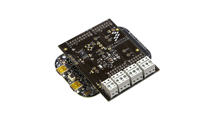 FRDM-17511EV-EVB : Freedom Expansion Board - MPC17511,  H-Bridge,  Brushed DC Motor Driver, 2.0-6.8 V, 1 A, 16 VMFP thumbnail