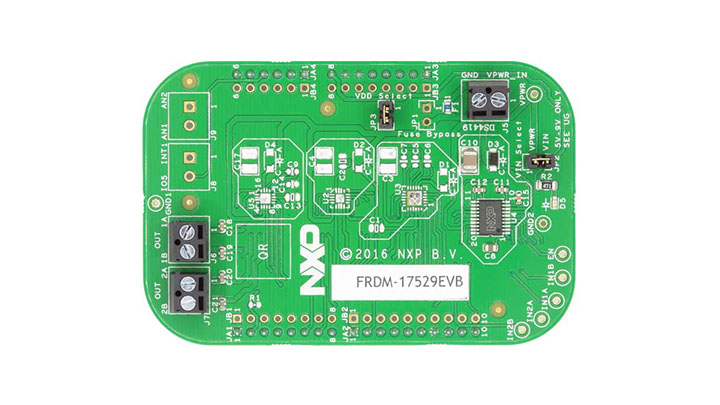 FRDM-17529EVB Evaluation Board - Front view
