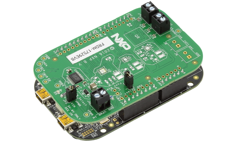 FRDM-17529EVB Evaluation Board with KL25Z view