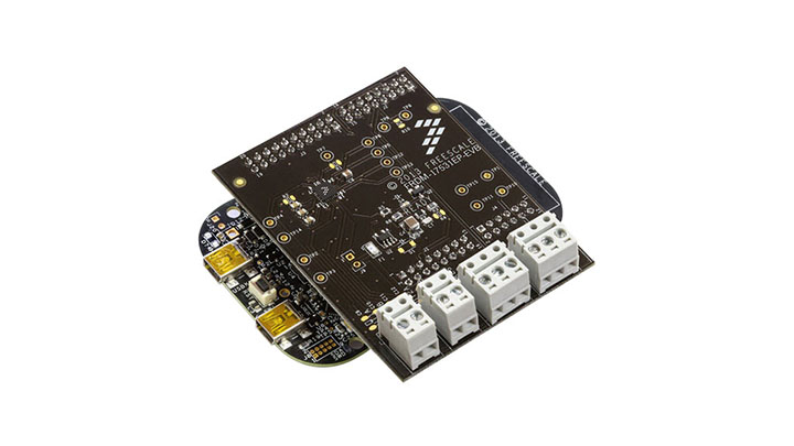 FRDM-17531EP-EVB : Freedom Expansion Board - MPC17531A, Dual H-Bridge,  Stepper Motor Driver, 2.0 V-8.6 V, 0.7 A thumbnail