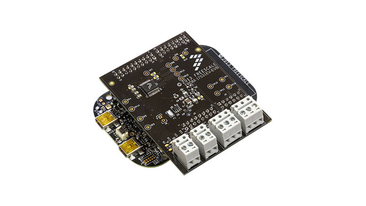 FRDM-17531EV-EVB : Freedom Expansion Board - MPC17531A, Dual H-Bridge,  Stepper Motor Driver, 2.0 V-8.6 V, 0.7 A thumbnail