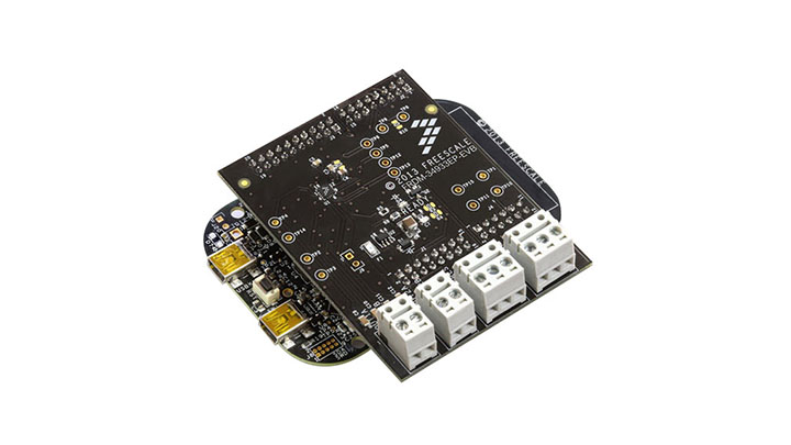FRDM-34933EP-EVB : Freedom Expansion Board - MC34933, Dual H-Bridge,  Stepper Motor Driver, 2.0-7.0 V, 1.4 A thumbnail