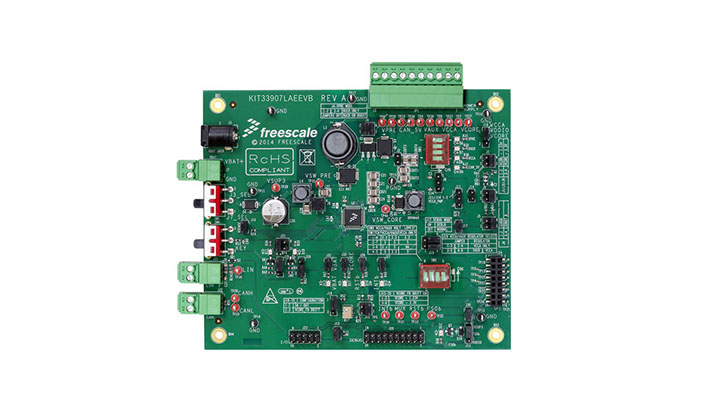 KIT33907LAEEVB : Evaluation kit - MC33907, Safe SBC with Buck, Boost, LIN thumbnail