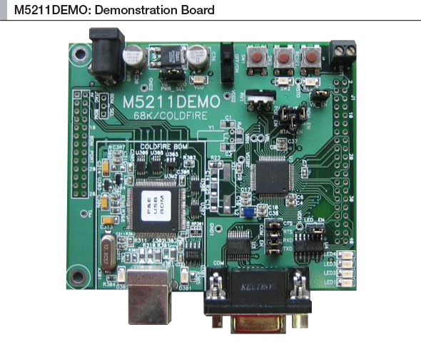 M5211DEMO Block diagram