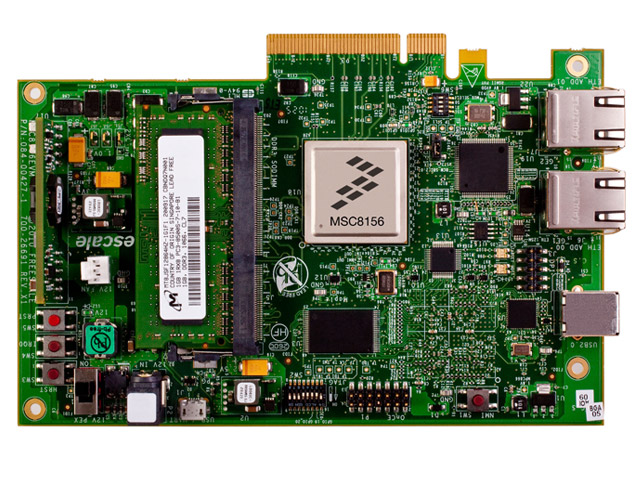 MSC8156 Evaluation Module board