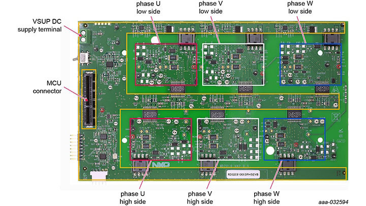 RDGD3100I3PH5EVB : 3-Phase Reference Design for HybridPACK™ Drive IGBT/SiC Module Featuring GD3100 thumbnail