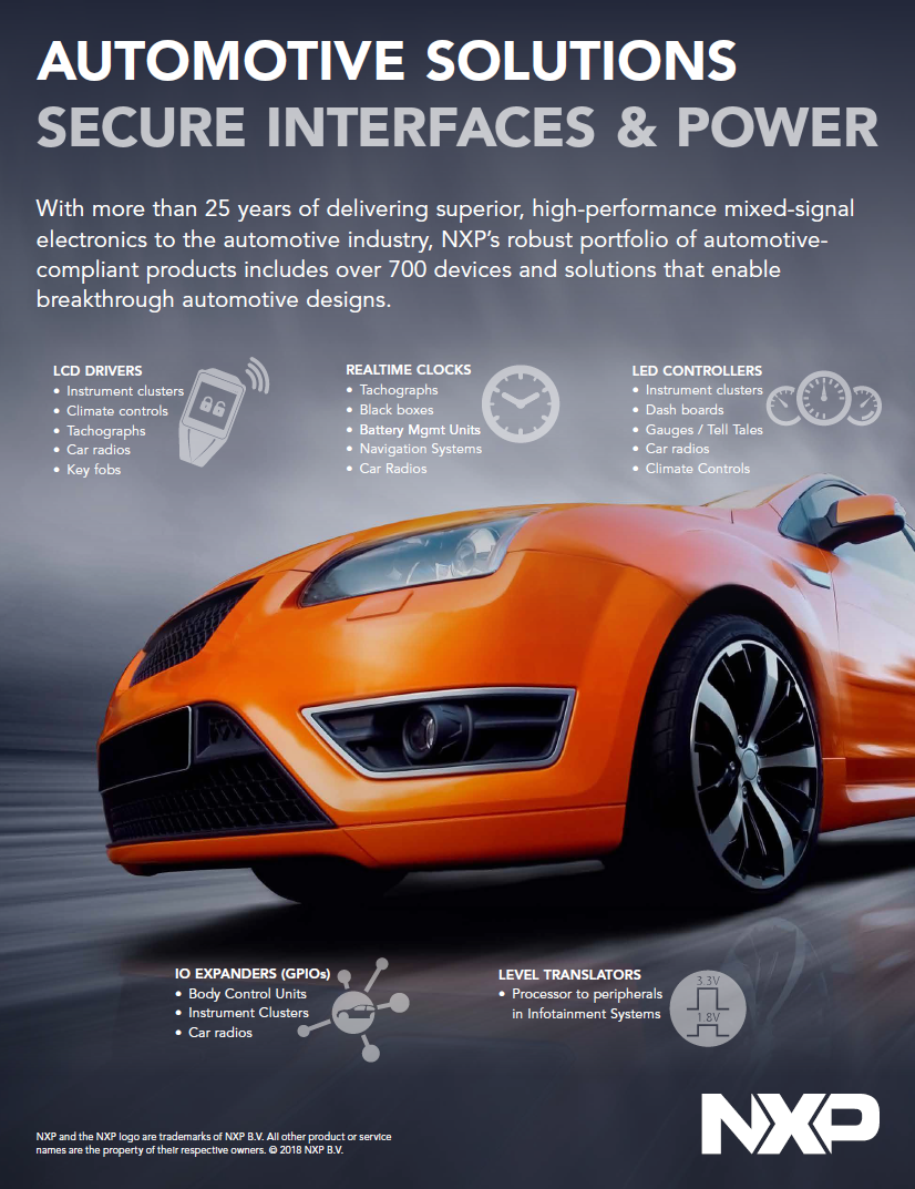 Automotive Solutions Fact Sheet Image