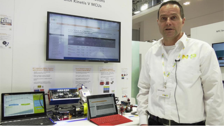 Motor Control Made Easy with Kinetis V Series MCUs